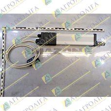 12V електричний хід циліндра = 150 мм